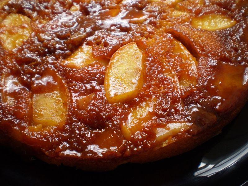 Idee Recette Gateau Au Yaourt Pomme Et Caramel Boulangerie Chez